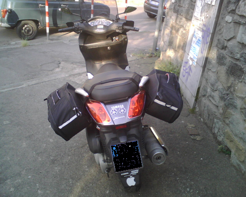 borse laterali scooter givi
